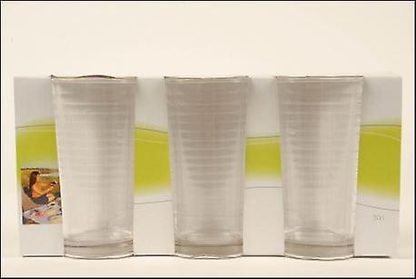 Circles Set of 3 30cl Glasses