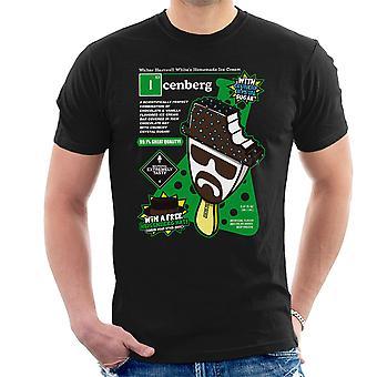 Icenberg Heisenberg Ice Cream Breaking Bad Men's T-Shirt