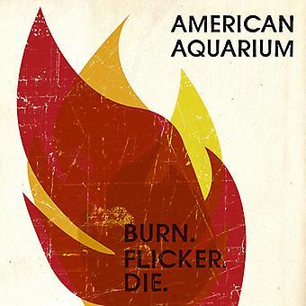 Amerikaans Aquarium - Burn.Flicker.Die [CD] USA importeren