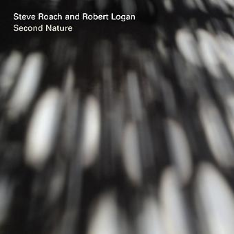 Steve Roach and Robert Logan - Second Nature [CD] USA import