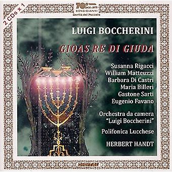 Boccherini / Rigacci / Castri / Handt - Luigi Boccherini: Gioas Re Di Giuda [CD] USA import