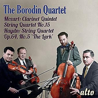 Ivan Mozgovenko Borodin Quartet - importation USA Borodin Quartet joue Haydn & Mozart Favo [CD]