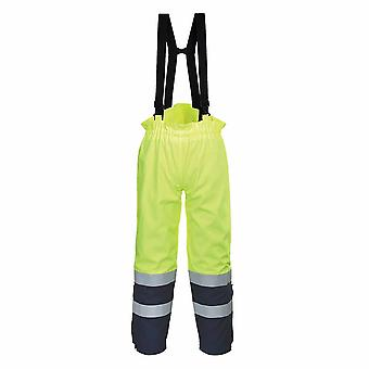Portwest - Bizflame Flame Resist Multi Arc Hi-Vis Safety Workwear Trouser