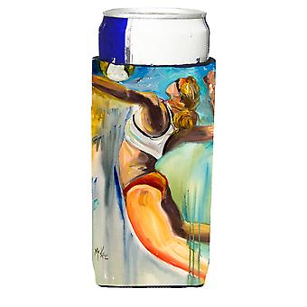 Playa voleibol Ultra bebidas aisladores para latas de slim