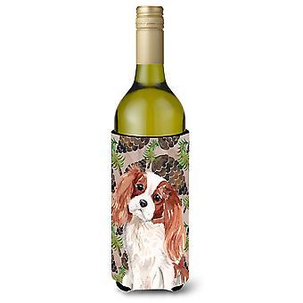 Cavalier Blenheim Spaniel pinhas vinho garrafa Beverge isolador Hugger