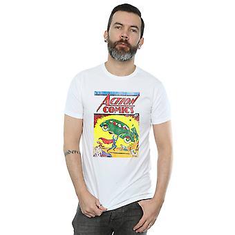 DC Comics mænds Superman Action Comics udstede 1 dække T-Shirt