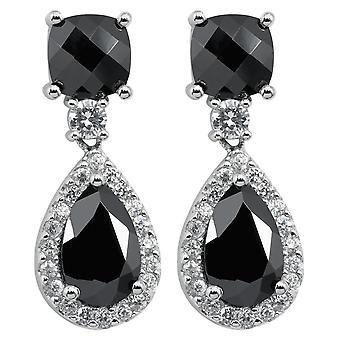 Burgmeister earring JBM1052-221, 925/- sterling silver with zirconia
