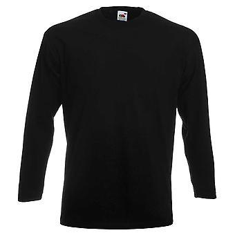 Fruit of the Loom Mens Super Premium Long Sleeve T Shirt