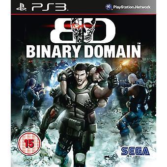 Domaine binaire (PS3) - Usine scellée