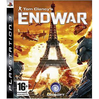 Tom Clancys End War (PS3) - Usine scellée