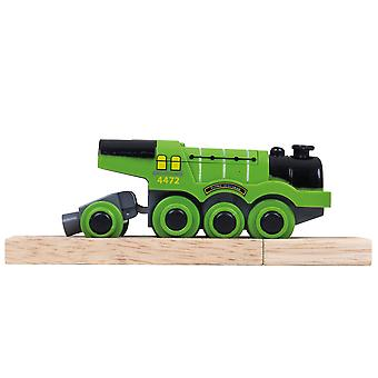 Bigjigs Rail Flying Scotsman Battery Operated Engine Locomotive Train Railway