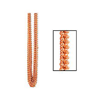 Perles métallique Parti d'Orange