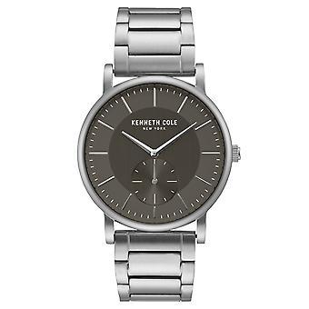 Da polso orologio analogico al quarzo in acciaio inox Kenneth Cole New York uomo KC50066001