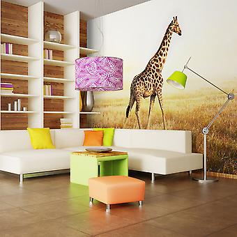 Fotomural - girafa - passeio