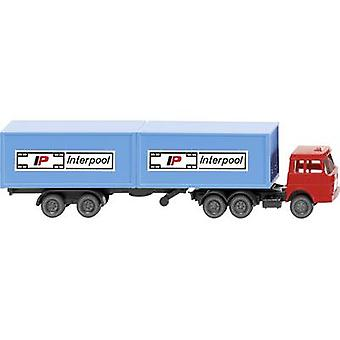 Wiking 095002 N Henschel Container-Truck Inter pool