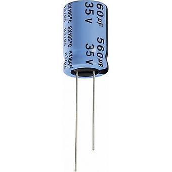 Yageo SX010M0068B2F-0511 elektrolytkondensator radiella leda 2 mm 68 µF 10 V 20% (Ø x H) 5 x 11 mm 1 dator