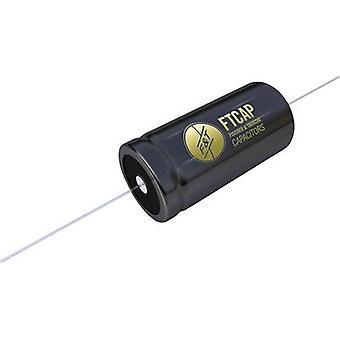 FTCAP 1010900-50303 مكثف ثنائي القطب 4 μF 100 V DC، 35 V AC 10٪ (Ø x L) 10 مم × 30 مم 1 جهاز كمبيوتر (ق)