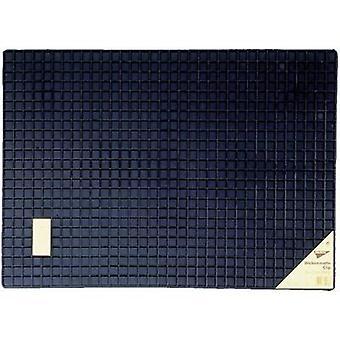 74576 Car floor mat (raised borders) Universal Rubber (L x W) 50 cm x 70 cm Black