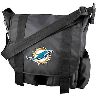 Miami Dolphins NFL Premium Diaper Bag