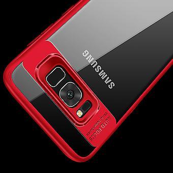 Ultra sottile custodia per Samsung Galaxy A8 più 2018 mobile case protezione copertina rossa