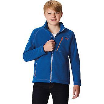 レガッタ男の子・女の子カジキ VI ハニカム フルジップ フリース ジャケットをハイキング