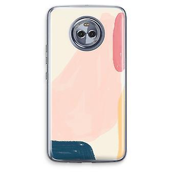 Motorola Moto X4 Transparent fodral (Soft) - lördag Flow
