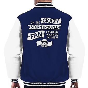 Original Stormtrooper The Crazy Fan Men's Varsity Jacket