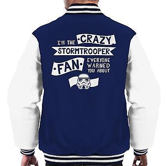 Originele Stormtrooper de gekke Fan mannen Varsity Jacket