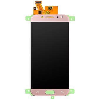 LCD replacement part with touchscreen for Galaxy J7 2017 – Rosegold
