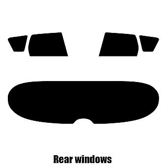 Pre cut window tint - Peugeot 308 Estate - 2008 to 2013 - Rear windows