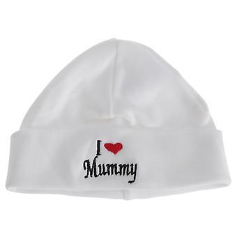 Universal Textiles Baby Boys/Girls I Heart Mummy Hat