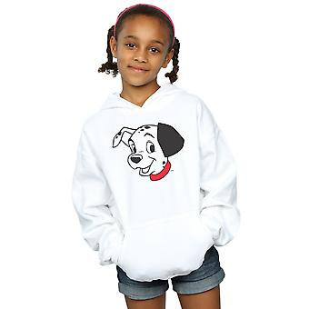 Disney Girls 101 Dalmatians Dalmatian Head Hoodie