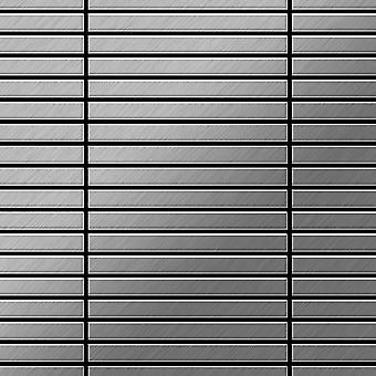 Metal mosaiikki ruostumattomia TERÄKSIÄ Linear-S-S-B