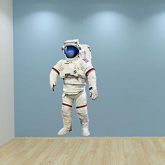 Full-Colour Astronaut Nasa Space Wandtattoo