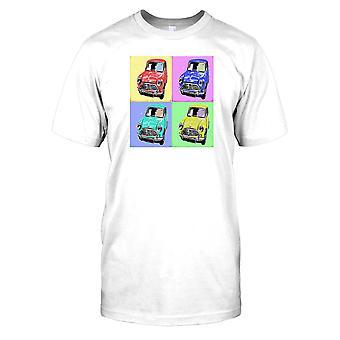 Mini Cooper popart Mens T Shirt