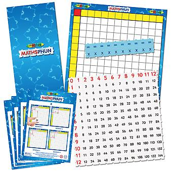 Morphun Mathsphun Multiplier Board Set - Educational Resources