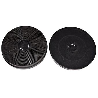 Genuine Original Stoves, Belling, New World Series Cooker Hood Carbon Charcoal Filters (Pack of 2)