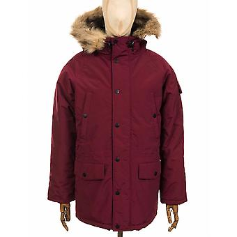 Carhartt WIP Anchorage Parka Jacket - Mulberry