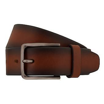 MIGUEL BELLIDO jeans belts men's belts leather belt Cognac 7828
