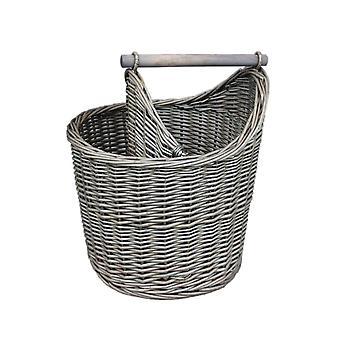 Wicker Bathroom Basket