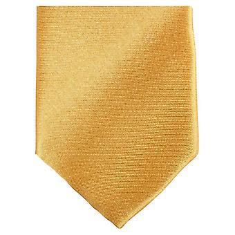 Knightsbridge cravates Slim Polyester Tie - or