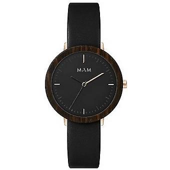 MAM Ferra Watch-svart/svart