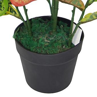 90 cm multicolor de Codiaeum Artificial planta - grandes de la casa
