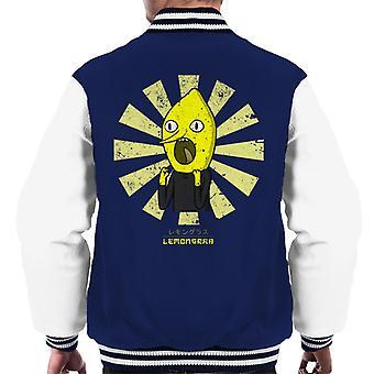 Earl Of Lemongrab Retro Japanese Men's Varsity Jacket