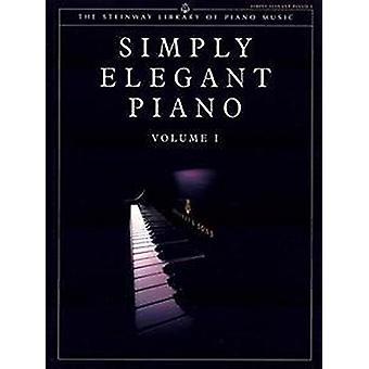 Simply Elegant Piano - v. 1 (UK ed) - 9781843288503 Book
