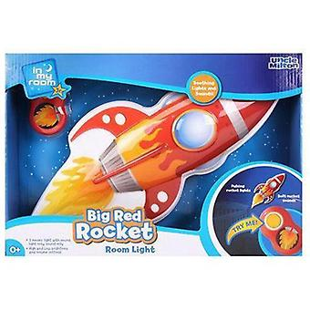 Uncle Milton In My Room Big Red Rocket Room Light