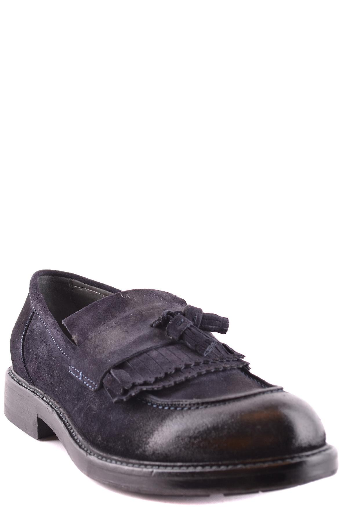 Wexford Ezbc302001 Men-apos;s Blue Suede Loafers