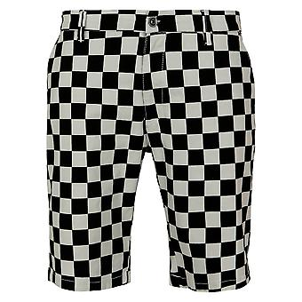 Urban Classics heren shorts check twill