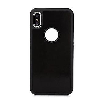 Stuff Certified® iPhone XR - Anti Gravity Absorption Case Cover Cas Case Black