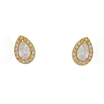 PANDORA Radiant Teardrop Earrings